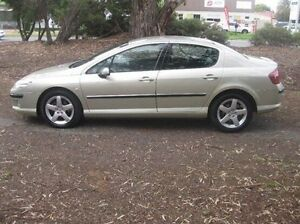 2005 Peugeot 407 ST HDI Executive Gold 4 Speed Sports Automatic Sedan Woodville Park Charles Sturt Area Preview