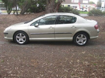 2005 Peugeot 407 ST HDI Executive Gold 4 Speed Sports Automatic Sedan Beverley Charles Sturt Area Preview