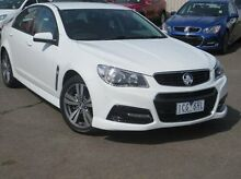2014 Holden Commodore VF MY15 SV6 White 6 Speed Sports Automatic Sedan Coolaroo Hume Area Preview