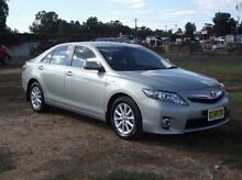 2011 Toyota Camry AHV40R MY10 Hybrid Silver 1 Speed Constant Variable Sedan Dubbo Dubbo Area Preview