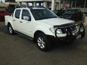 2011 Nissan Navara D40 MY11 ST-X 550 White 7 Speed Sports Automatic Utility Bridgewater Adelaide Hills Preview