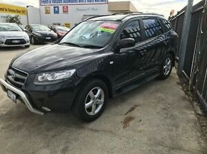 2007 Hyundai Santa Fe CM MY07 SLX Black 5 Speed Sports Automatic Wagon Welshpool Canning Area Preview