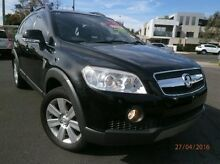 2007 Holden Captiva CG MY08 LX AWD Black 5 Speed Sports Automatic Wagon Heidelberg Heights Banyule Area Preview