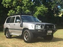 1998 Toyota Landcruiser FZJ105R GXL Silver 4 Speed Automatic Wagon Albion Brisbane North East Preview