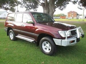 2000 Toyota Landcruiser HZJ105R GXL Burgundy 5 Speed Manual Wagon East Kempsey Kempsey Area Preview