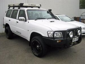 2008 Nissan Patrol GU 6 MY08 DX White 5 Speed Manual Wagon Enfield Port Adelaide Area Preview