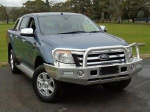 2014 Ford Ranger PX XLT Double Cab Blue 6 Speed Manual Utility Elizabeth Playford Area Preview