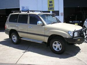1999 Toyota Landcruiser FZJ105R GXL Beige 4 Speed Automatic Wagon Woodbine Campbelltown Area Preview