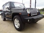2010 Jeep Wrangler Unlimited JK MY09 Sport (4x4) Black 6 Speed Manual Softtop Melton Melton Area Preview