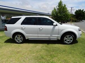 2011 Ford Territory SY Mkii TS RWD Limited Edition White 4 Speed Sports Automatic Wagon Victoria Park Victoria Park Area Preview