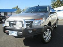 2012 Ford Ranger PX XLT Super Cab Gold 6 Speed Sports Automatic Utility Coburg North Moreland Area Preview