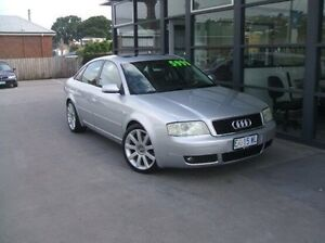 2004 Audi A6 4B MY04 Multitronic Silver 1 Speed Constant Variable Sedan Invermay Launceston Area Preview