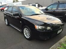 2011 Mitsubishi Lancer CJ MY12 Platinum Black 6 Speed Constant Variable Sedan Heidelberg Heights Banyule Area Preview