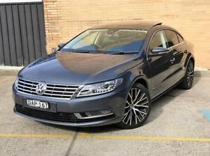 2015 Volkswagen CC Type 3CC MY15 130TDI DSG Grey 6 Speed Sports Automatic Dual Clutch Coupe Kings Park Blacktown Area Preview