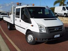 2011 Ford Transit VM White 6 Speed Manual Cab Chassis Spearwood Cockburn Area Preview