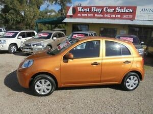 2013 Nissan Micra Orange Manual Hatchback Hastings Mornington Peninsula Preview