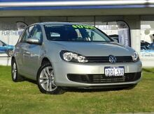2011 Volkswagen Golf  Silver Sports Automatic Dual Clutch Hatchback Victoria Park Victoria Park Area Preview