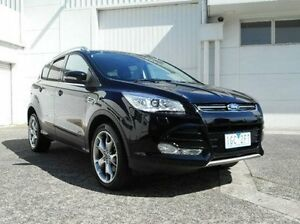 2015 Ford Kuga TF MY15 Titanium AWD Black 6 Speed Sports Automatic Wagon Bundoora Banyule Area Preview