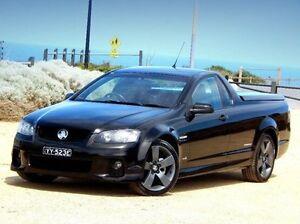 2011 Holden Ute VE II SV6 Thunder Black 6 Speed Manual Utility Christies Beach Morphett Vale Area Preview