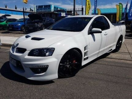 2013 Holden Special Vehicles Maloo E Series 3 MY12.5 White 6 Speed Manual Utility Dandenong Greater Dandenong Preview