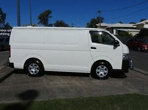 2013 Toyota Hiace KDH201R MY12 LWB White 5 Speed Manual Van Morningside Brisbane South East Preview