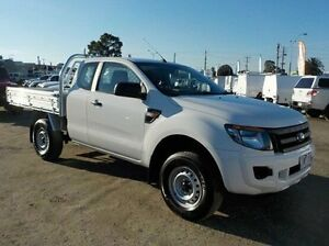 2013 Ford Ranger White Sports Automatic Cab Chassis Pakenham Cardinia Area Preview
