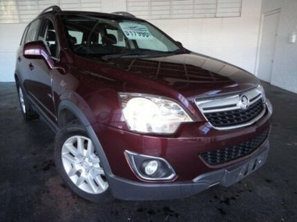 2013 Holden Captiva CG Series II MY12 5 6 Speed Auto Seq Sportshift Wagon Derwent Park Glenorchy Area Preview