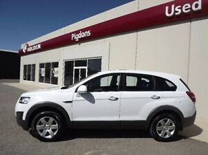 2013 Holden Captiva CG MY14 7 LS White 6 Speed Sports Automatic Wagon Yarrawonga Moira Area Preview