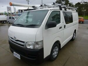 2010 Toyota Hiace White Manual Van Coburg North Moreland Area Preview