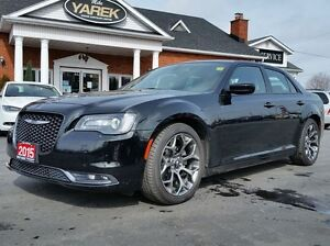 2015 Chrysler 300 300S, Leather Heated Seats,Dual-Pane Panoramic