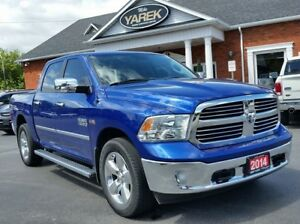 2014 Ram 1500 Big Horn 4x4, Heated Seats/Wheel, Back Up Cam, Blu
