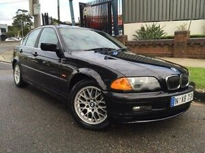2001 BMW 325I E46 MY2001 Steptronic Black 5 Speed Sports Automatic Sedan Summer Hill Ashfield Area Preview