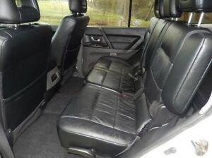 2004 Mitsubishi Pajero NP MY05 Exceed White 5 Speed Sports Automatic Wagon Doveton Casey Area Preview