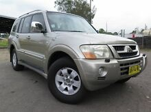 2003 Mitsubishi Pajero NP Exceed LWB (4x4) Gold 5 Speed Auto Sports Mode Wagon Silverwater Auburn Area Preview