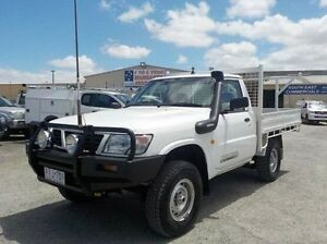 1999 Nissan Patrol White Manual Cab Chassis Pakenham Cardinia Area Preview
