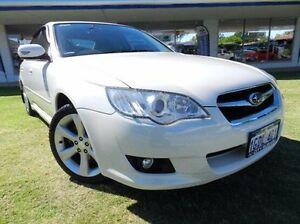 2008 Subaru Liberty B4 MY09 Premium AWD White 4 Speed Sports Automatic Sedan Victoria Park Victoria Park Area Preview