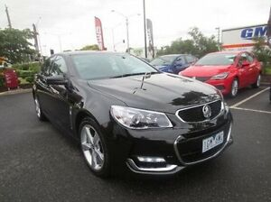 2015 Holden Commodore VF II MY16 SV6 Black 6 Speed Sports Automatic Sedan Coolaroo Hume Area Preview