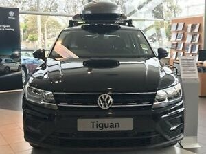 2016 Volkswagen Tiguan 5N MY17 110TSI DSG 2WD Trendline Black 6 Speed Sports Automatic Dual Clutch Frankston Frankston Area Preview