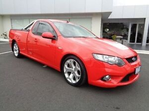 2009 Ford Falcon Red Manual Utility Traralgon Latrobe Valley Preview