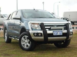 2014 Ford Ranger PX XLT Double Cab Blue 6 Speed Manual Utility Bibra Lake Cockburn Area Preview