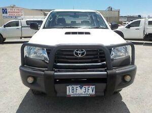 2013 Toyota Hilux White Manual Utility Pakenham Cardinia Area Preview