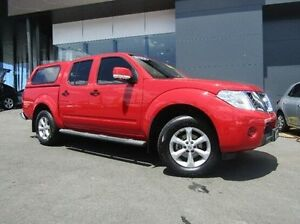2013 Nissan Navara D40 S6 MY12 ST Red 6 Speed Manual Utility Earlville Cairns City Preview