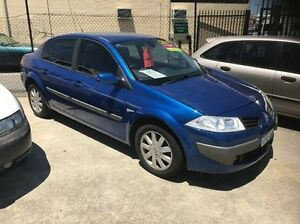 2007 Renault Megane II X84 Phase II Expression dCi Blue 6 Speed Manual Sedan St James Victoria Park Area Preview
