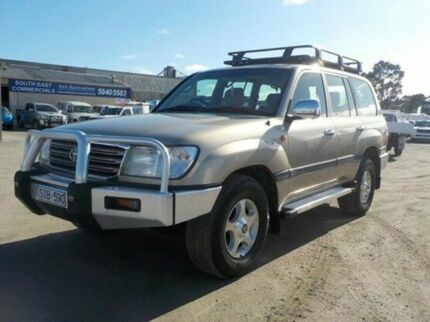 2002 Toyota Landcruiser Gold Automatic Wagon