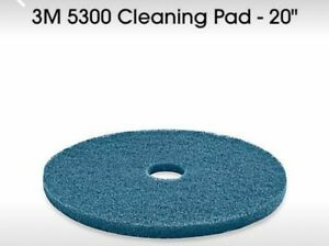 3m blue cleaner pads for industrial floor cleaner **new in cases