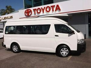 2011 Toyota Hiace KDH223R MY11 Commuter High Roof Super LWB White 4 Speed Automatic Bus Rockhampton Rockhampton City Preview