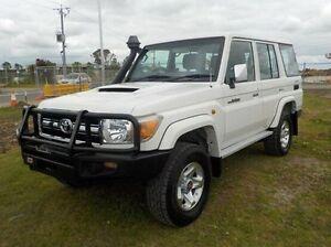 2011 Toyota Landcruiser White Manual Wagon Pakenham Cardinia Area Preview
