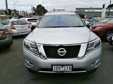2015 Nissan Pathfinder R52 MY15 ST-L X-tronic 4WD Silver 1 Speed Constant Variable Wagon Blackburn Whitehorse Area Preview