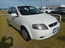 2008 Holden Barina TK MY08 White 4 Speed Automatic Hatchback East Rockingham Rockingham Area Preview