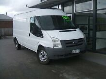 2008 Ford Transit VM Mid Roof LWB White 6 Speed Manual Van Launceston Launceston Area Preview